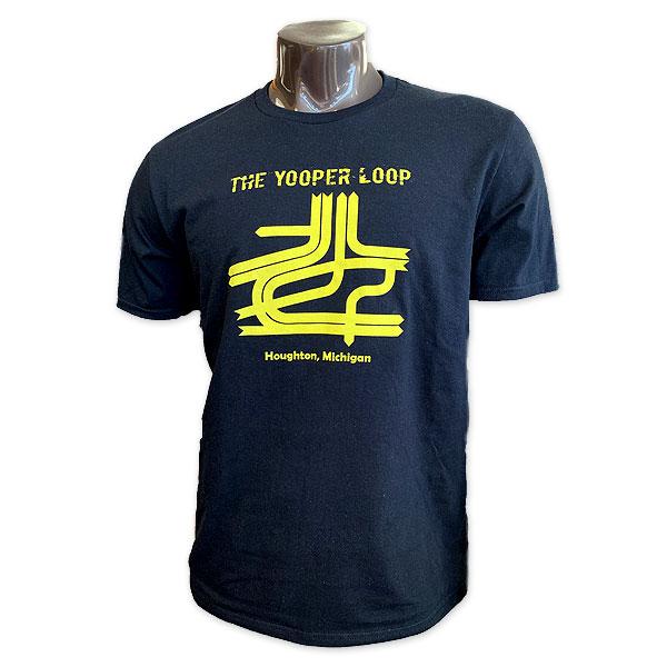 #01Aa Tee With The Yooper Loop Print From Bohemia