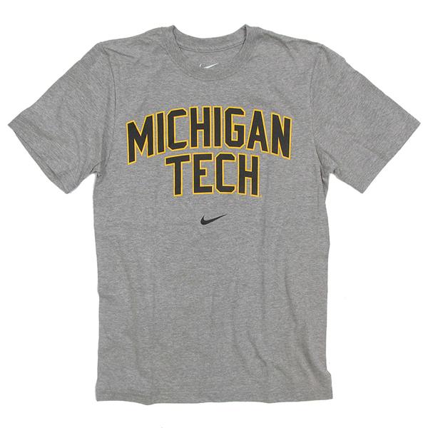 Michigan Technological University: #01hh Michigan Tech Print Tee From Nike