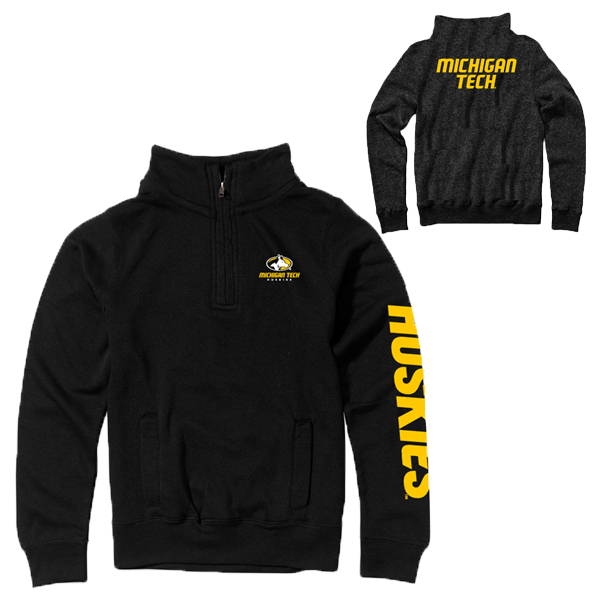 06n premium 1 4 zip pullover from camp david michigan tech university images. Black Bedroom Furniture Sets. Home Design Ideas