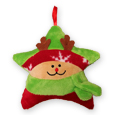#42U PLUSH REINDEER ORNAMENT GIFT CARD HOLDER
