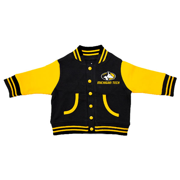 Michigan Technological University: #24b Youth Hood With 3 Location Embroidery
