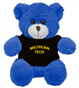 #45ZZ MICHIGAN TECH AROMATIC FRIENDS TEDDY BEAR