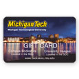 Gift Card With Night Picture Of Campus